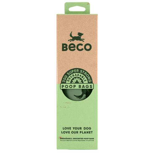 Beco Degradable Dog Poop Bags, 300-count