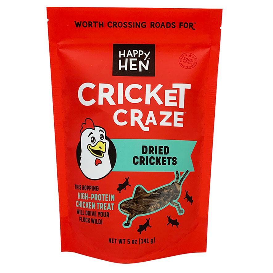 Happy Hen Treats Cricket Craze Chicken Treats, 5-oz