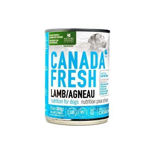 PetKind Canada Fresh Lamb Formula Wet Dog Food, 368-g