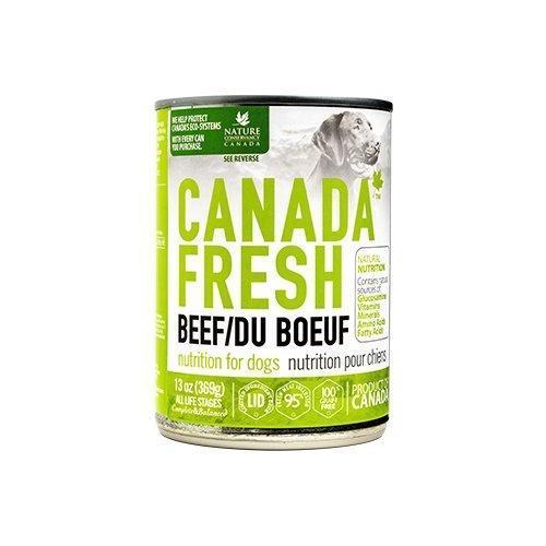 PetKind Canada Fresh Beef Formula Wet Dog Food, 368-g