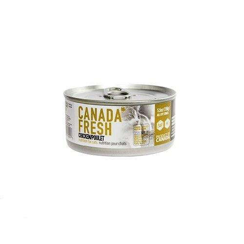 PetKind Canada Fresh Chicken Formula Wet Cat Food, 156-g