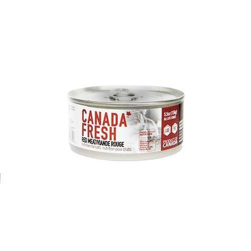 PetKind Canada Fresh Red Meat Formula Wet Cat Food, 156-g
