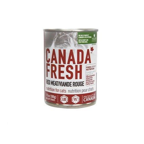 PetKind Canada Fresh Red Meat Formula Wet Cat Food, 368-g