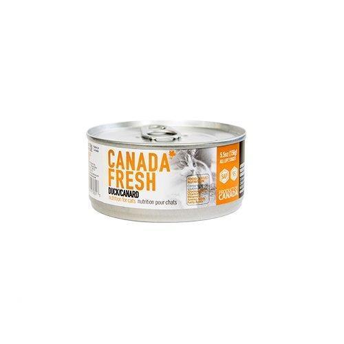 PetKind Canada Fresh Duck Formula Wet Cat Food, 156-g