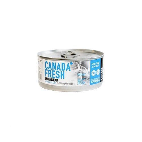 PetKind Canada Fresh Lamb Formula Wet Cat Food, 156-g