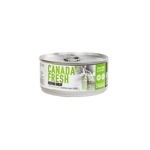 PetKind Canada Fresh Beef Formula Wet Cat Food, 156-g