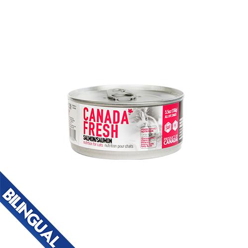 PetKind Canada Fresh Salmon Formula Wet Cat Food, 156-g Size: 156-g
