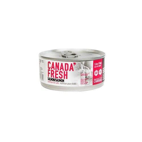 PetKind Canada Fresh Salmon Formula Wet Cat Food, 156-g