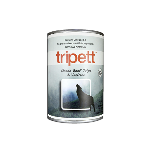 PetKind Green Beef Tripe with Venison Wet Dog Food, 368g