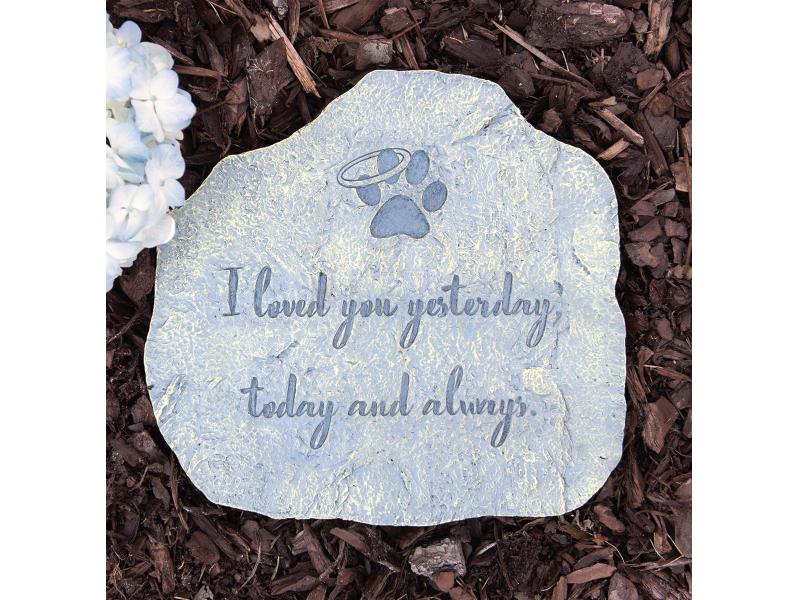 Dog Speaks Love You Memorial