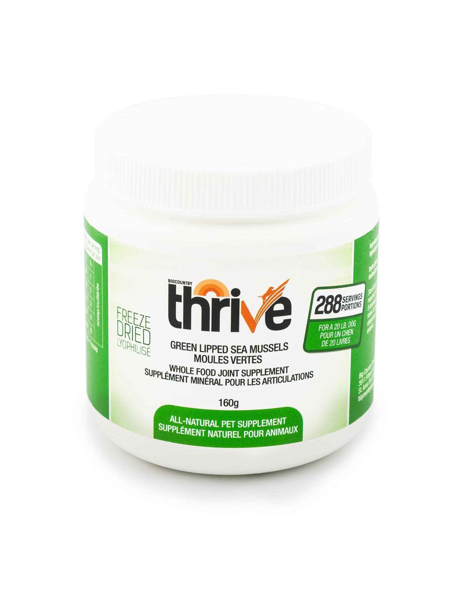 Thrive Green Lipped Mussels Dog & Cat Supplement, 160-gram