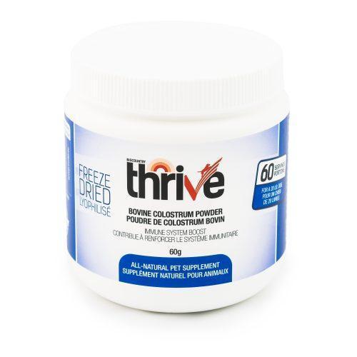 Thrive Bovine Colostrum Powder Dog & Cat Supplement, 60-gram