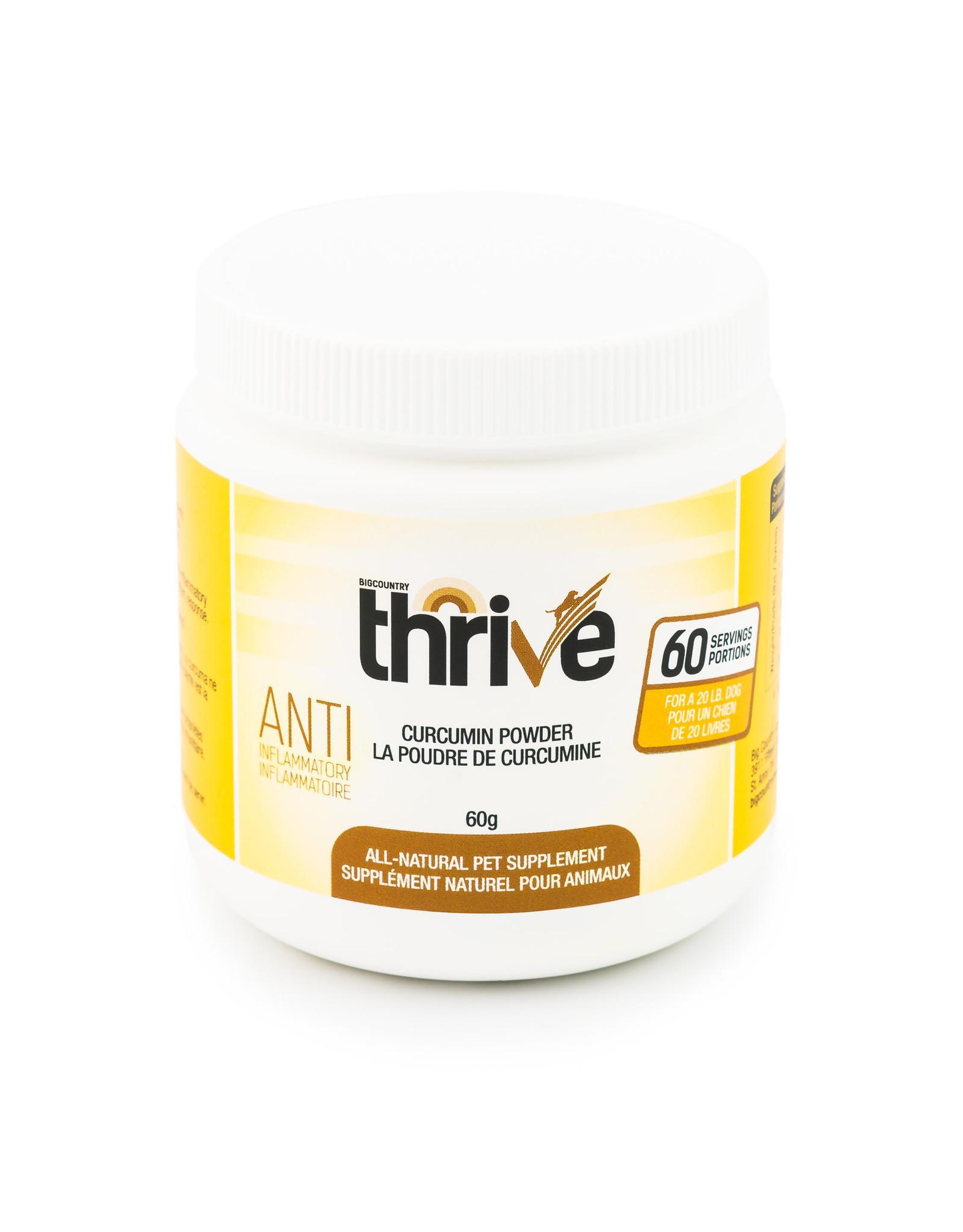 Thrive Curcumin Powder Dog & Cat Supplement, 60-gram