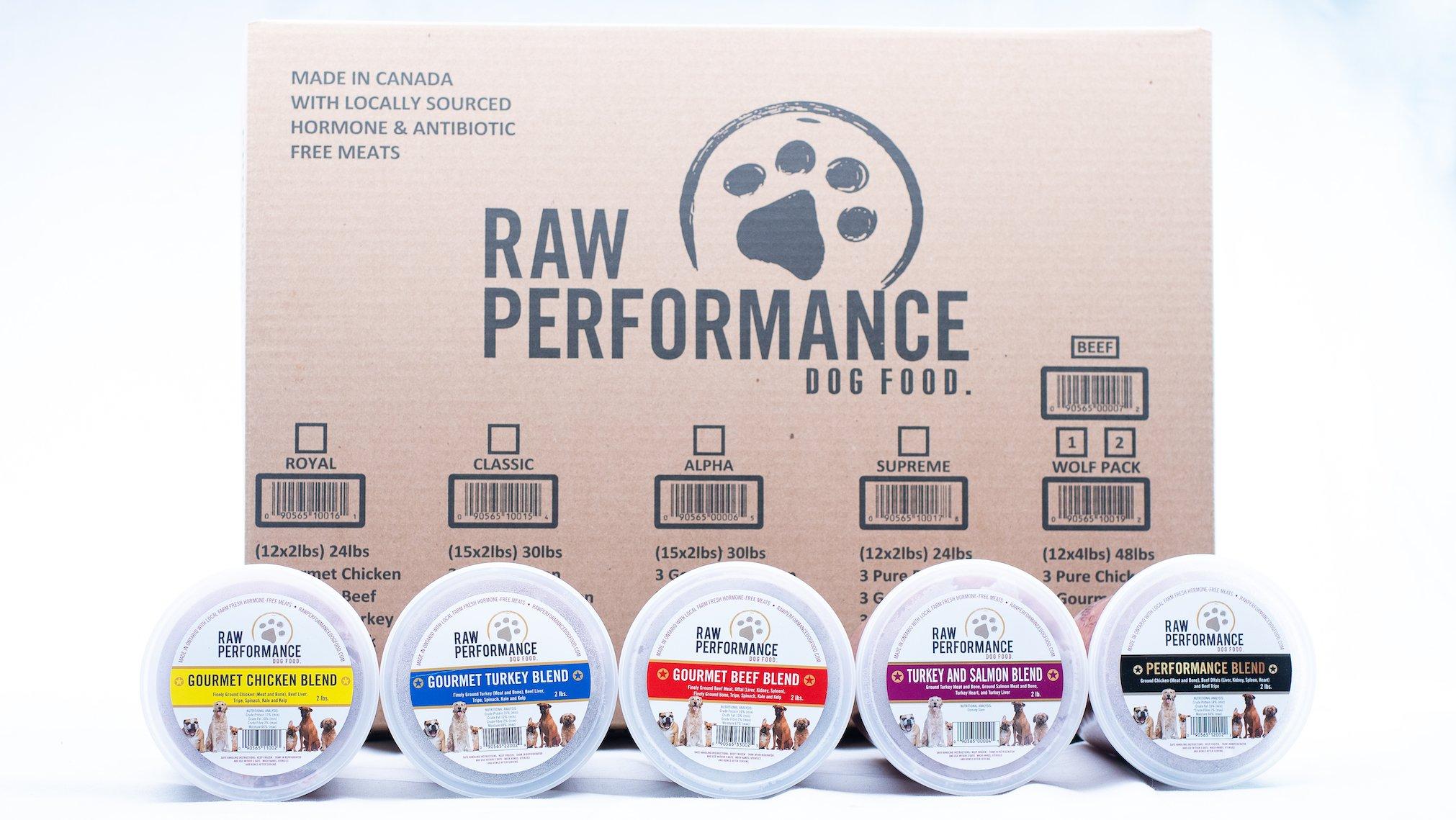 Raw Performance Variety Cases Alpha, 30-lbs (15 x 2-lbs) Dog Food