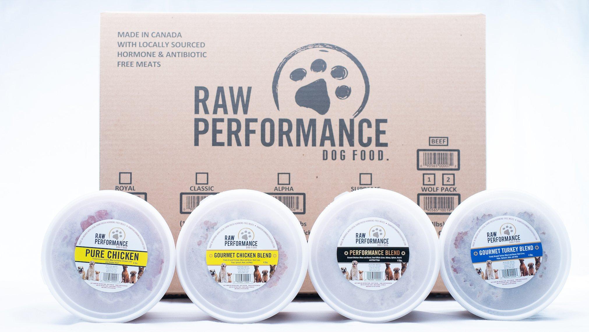 Raw Performance Wolf Pack Dog Food, 48-lb