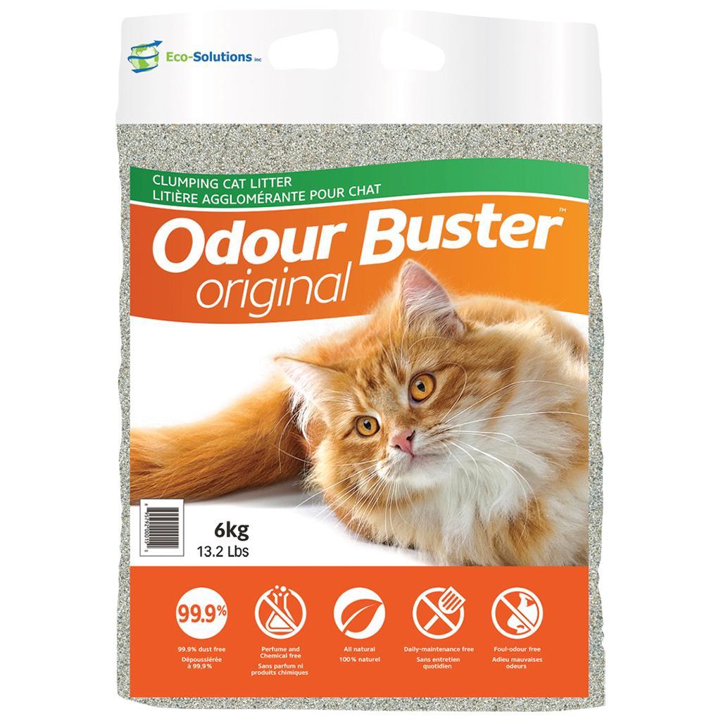 Odour Buster Original Cat Litter, 6-kg