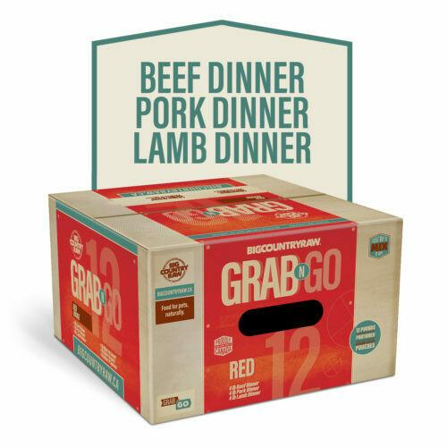 Big Country Raw Grab N Go Red Deal Frozen Dog Food Image