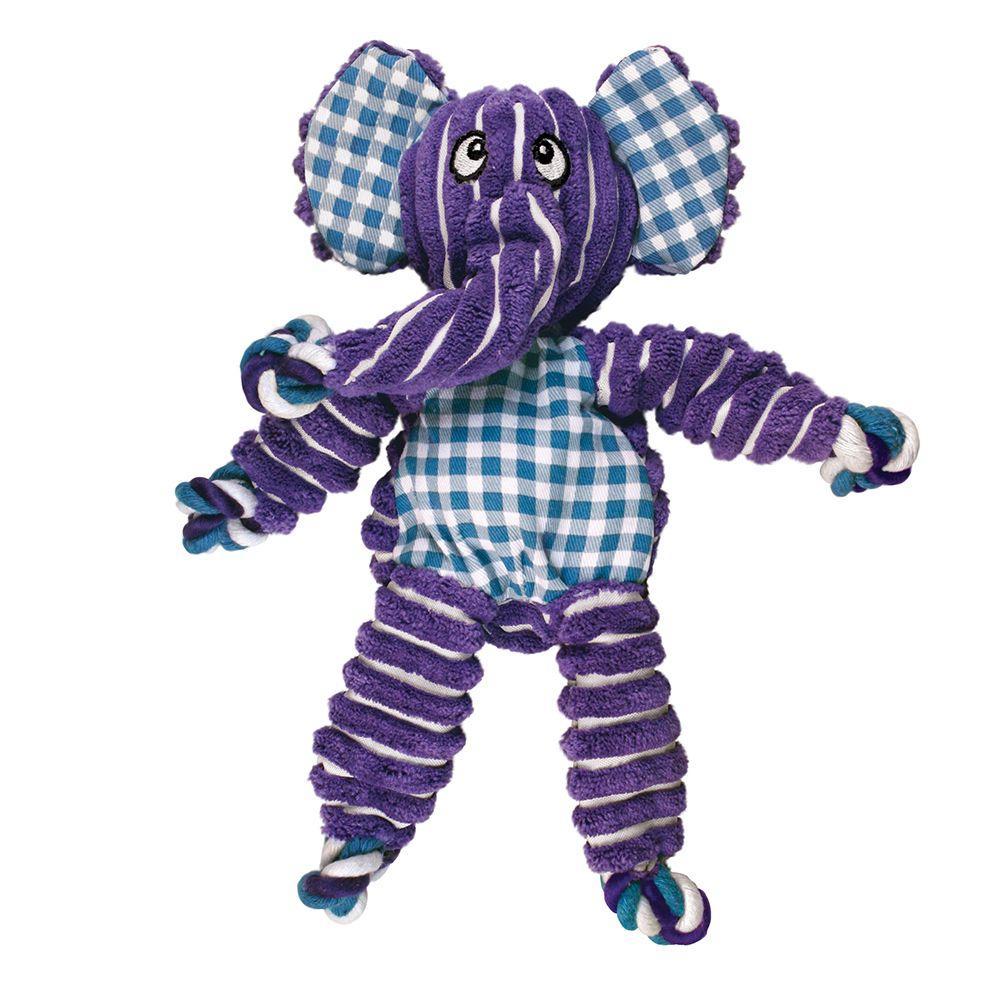 KONG Floppy Knots Elephant Dog Toy, Medium/Large