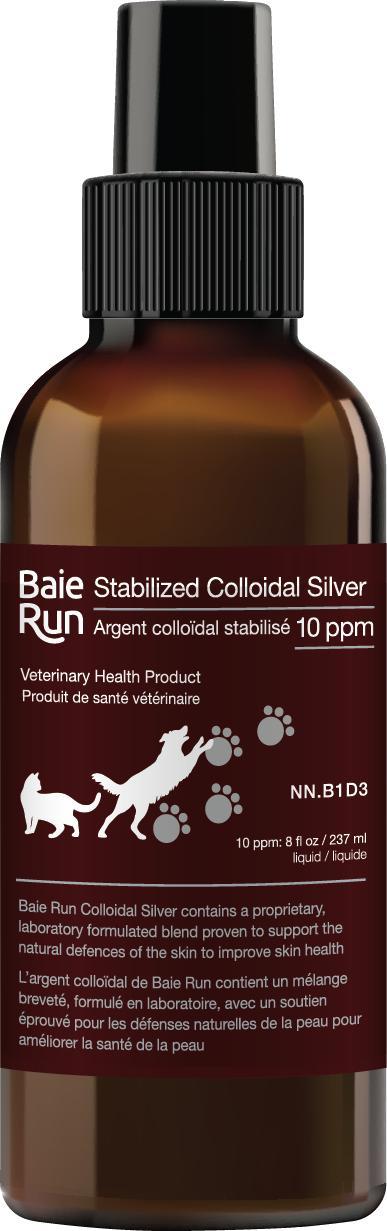 Baie Run Colloidal Silver, 273-ml