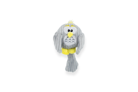 BeOneBreed Baby Owl Dog Toy