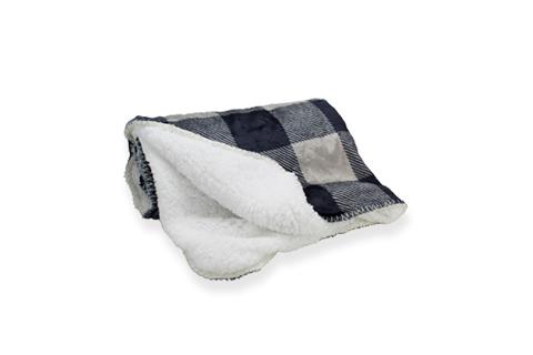 BeOneBreed Blanket Black Plaid