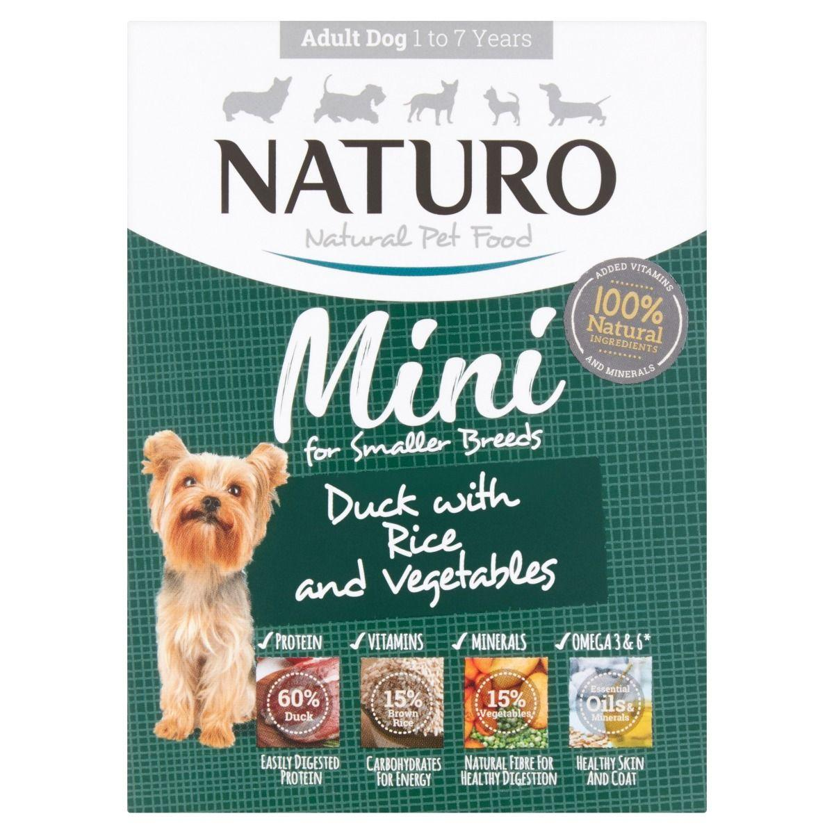 Naturo Mini Duck with Rice & Vegetables Wet Dog Food, 150-gram