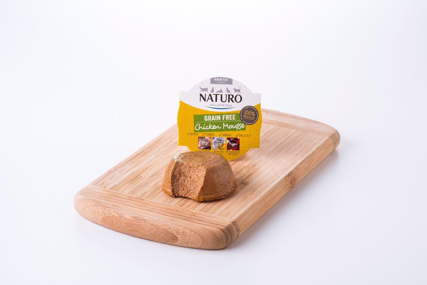 Naturo Chicken Mousse Grain-Free Wet Cat Food, 85-gram