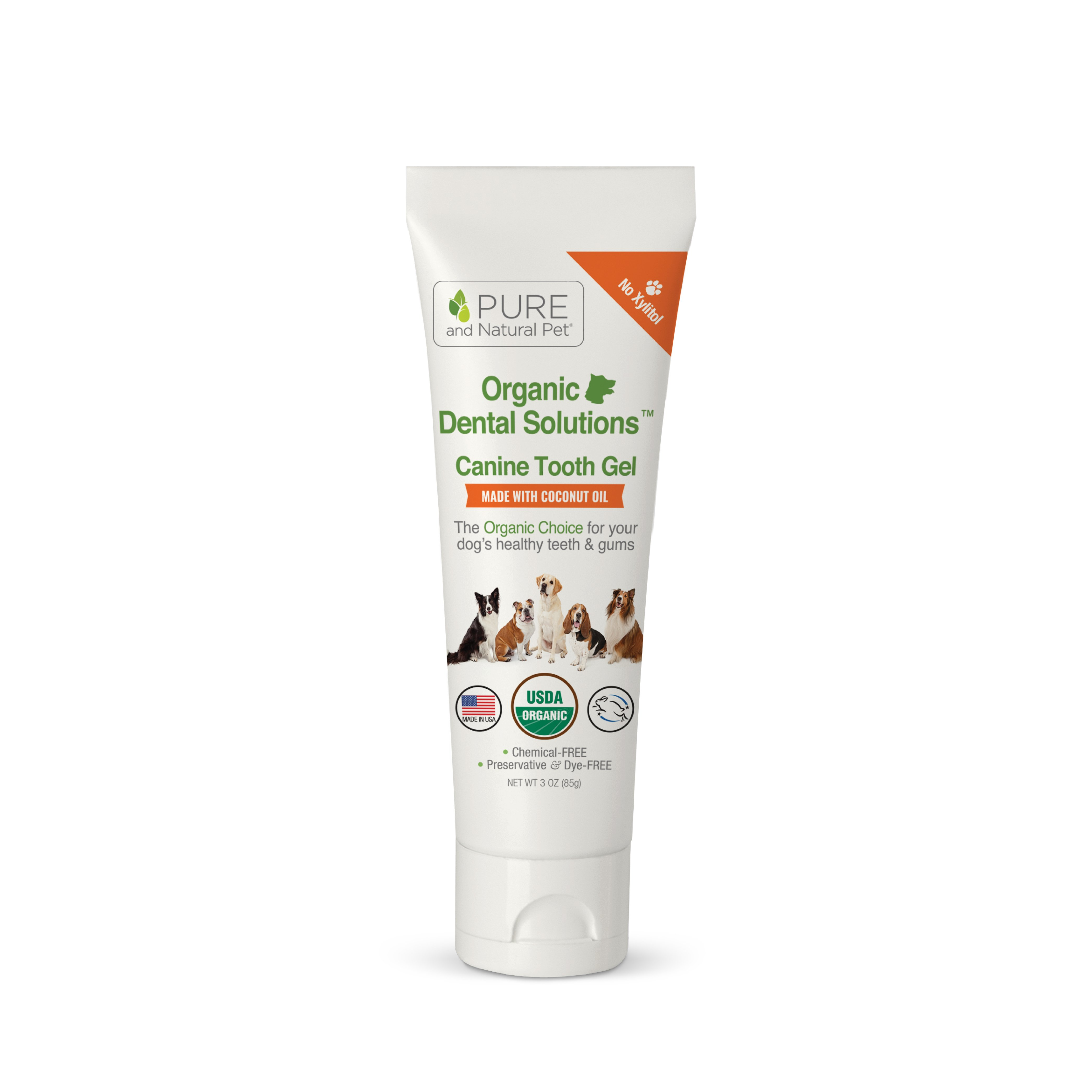 Pure and Natural Pet Canine Tooth Gel Image