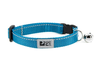 RC Pet Products Primary Kitty Breakaway Collar, Dark Teal