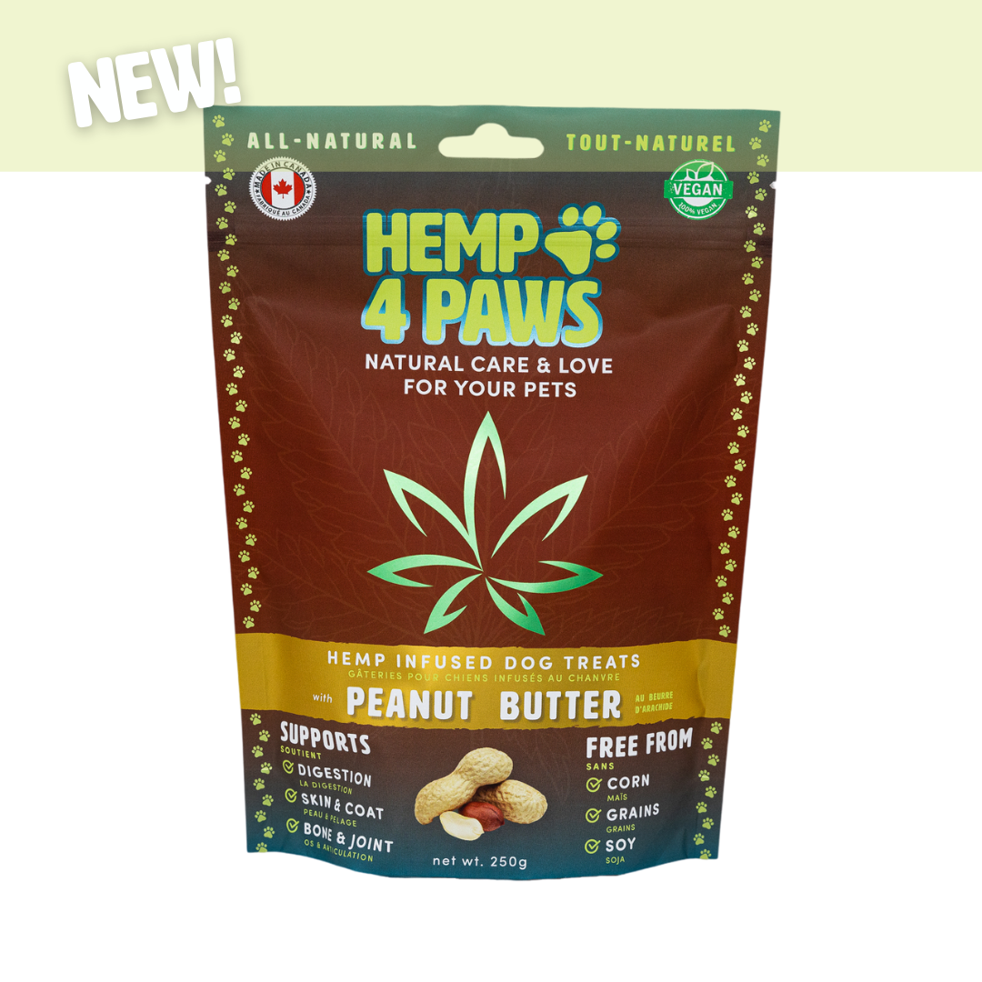 H 4 Paws H-Infused Dog Treats Peanut Butter
