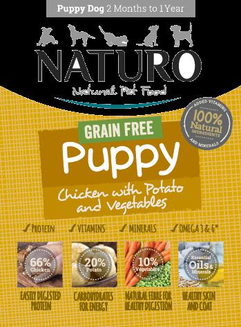Naturo Puppy Grain Free Chicken Wet Dog Food