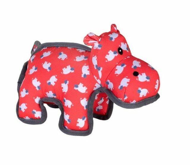 The Worthy Dog Hanna Hippo Dog Toy, Small