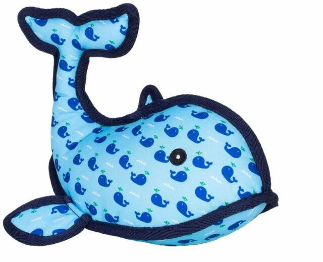 The Worthy Dog Squirt Whale Dog Toy, Large