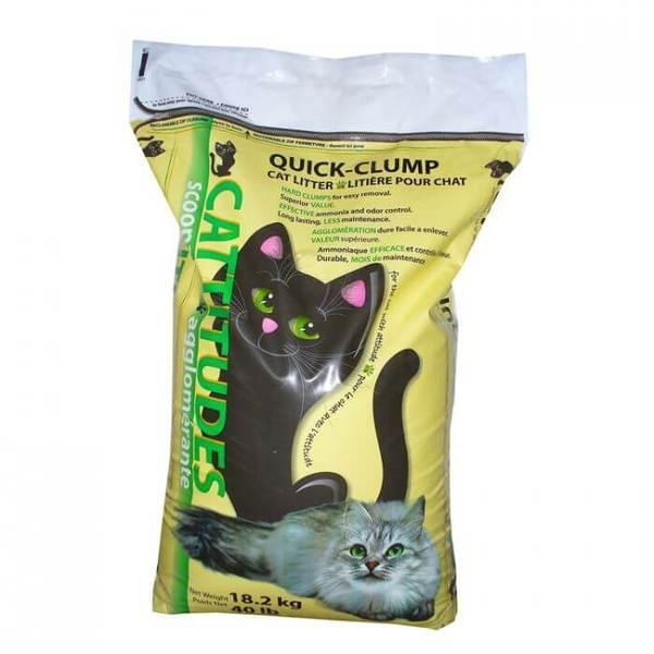 Absorbent Cattitudes Quick Clumping Cat Litter Image