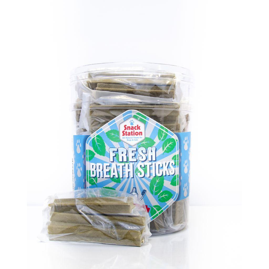 This & That Snack Station Fresh Breath Sticks Dog Treats, Large, 3-pk