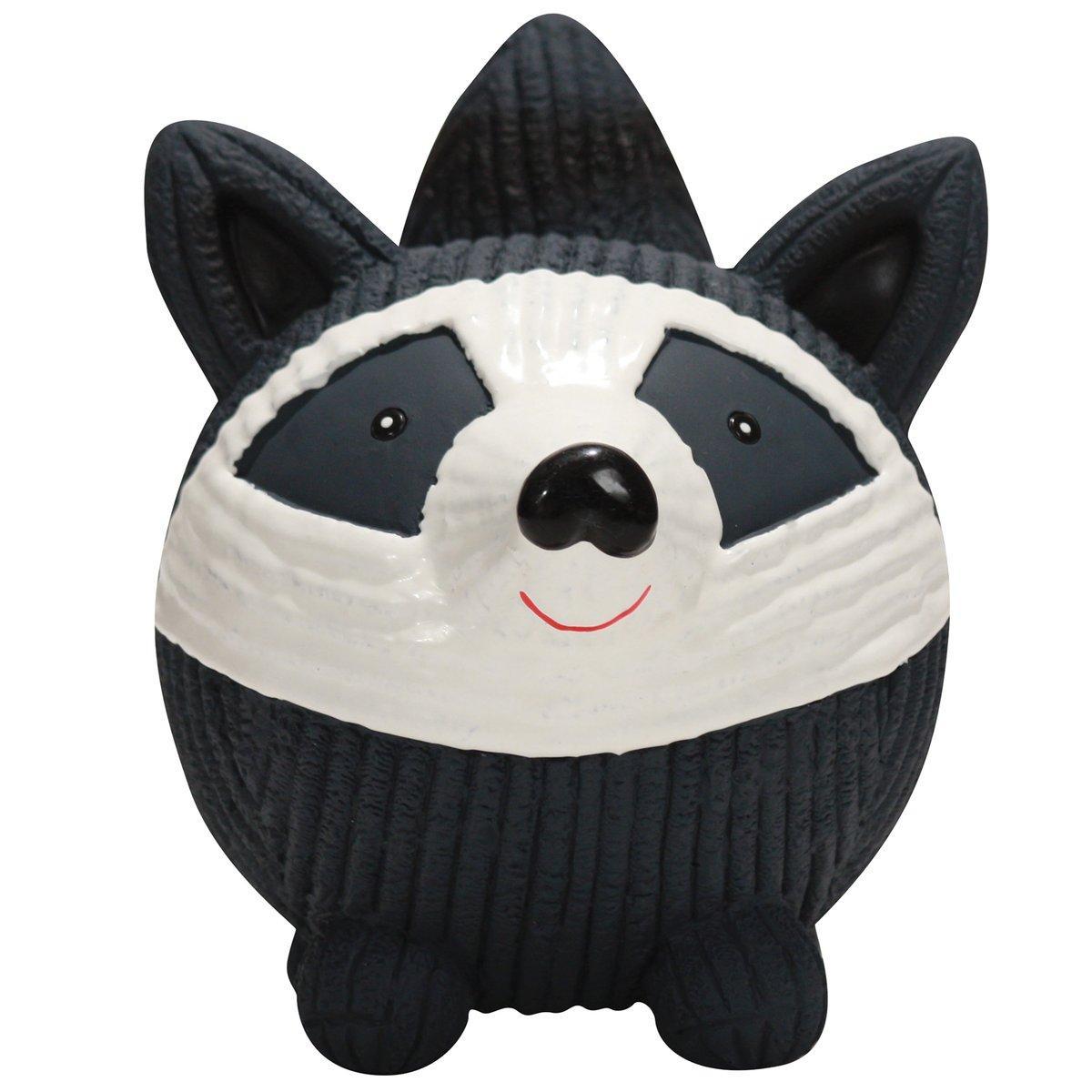 HuggleHounds Ruff-Tex Raccoon Dog Toy Image