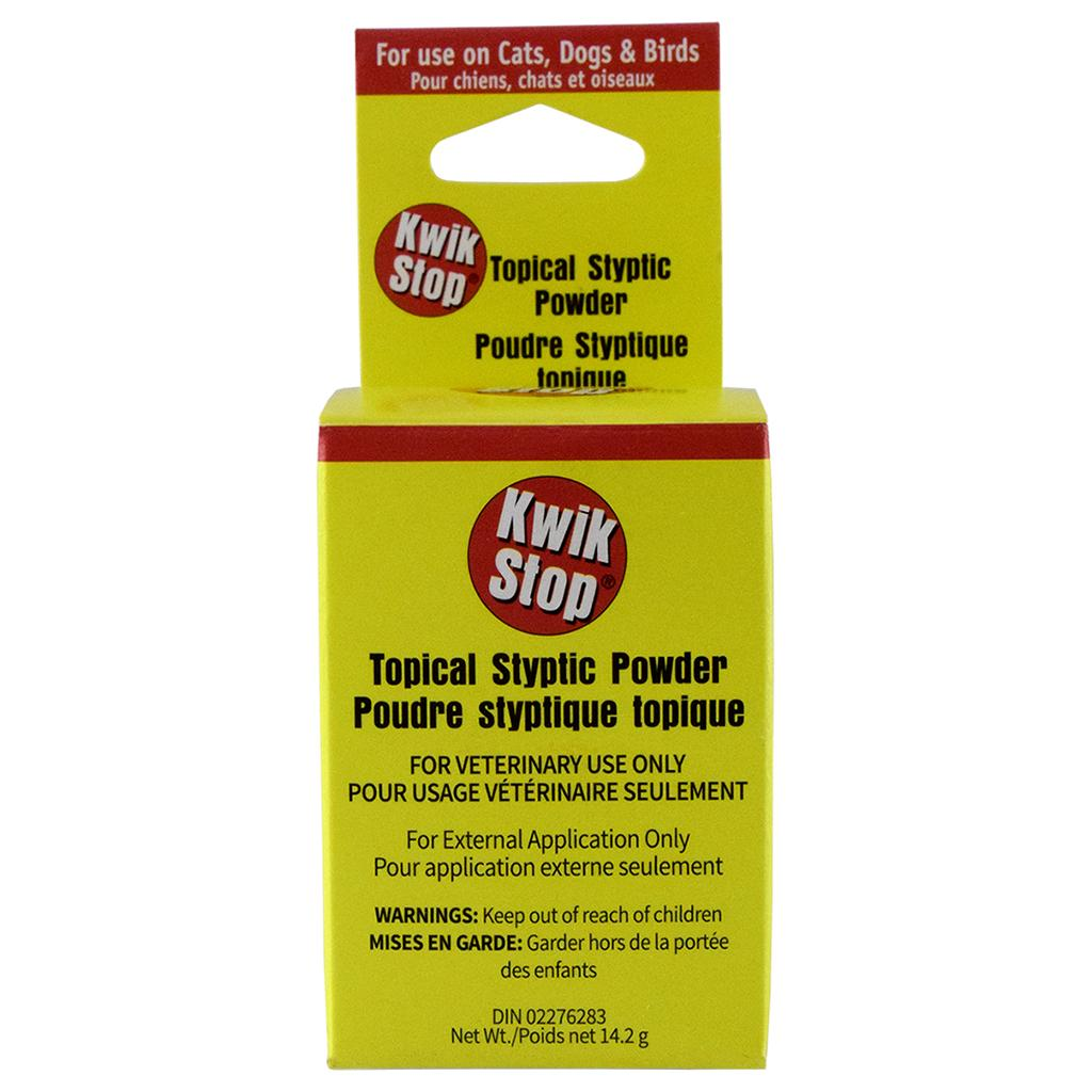 Miracle Care Kwik Stop Topical Styptic Powder for Pets, 14.2-gram