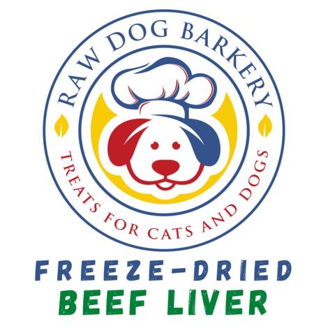 Raw Dog Barkery Beef Liver Dog Treat, 4-oz