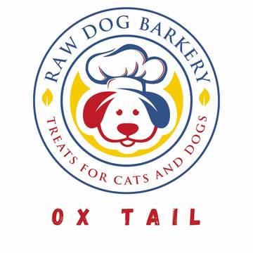 Raw Dog Barkery Beef Ox Tails Dog Treat, 8-oz