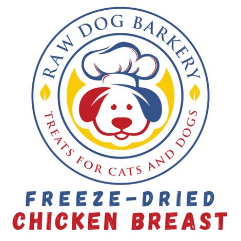 Raw Dog Barkery Chicken Breast Dog Treats, 3-oz