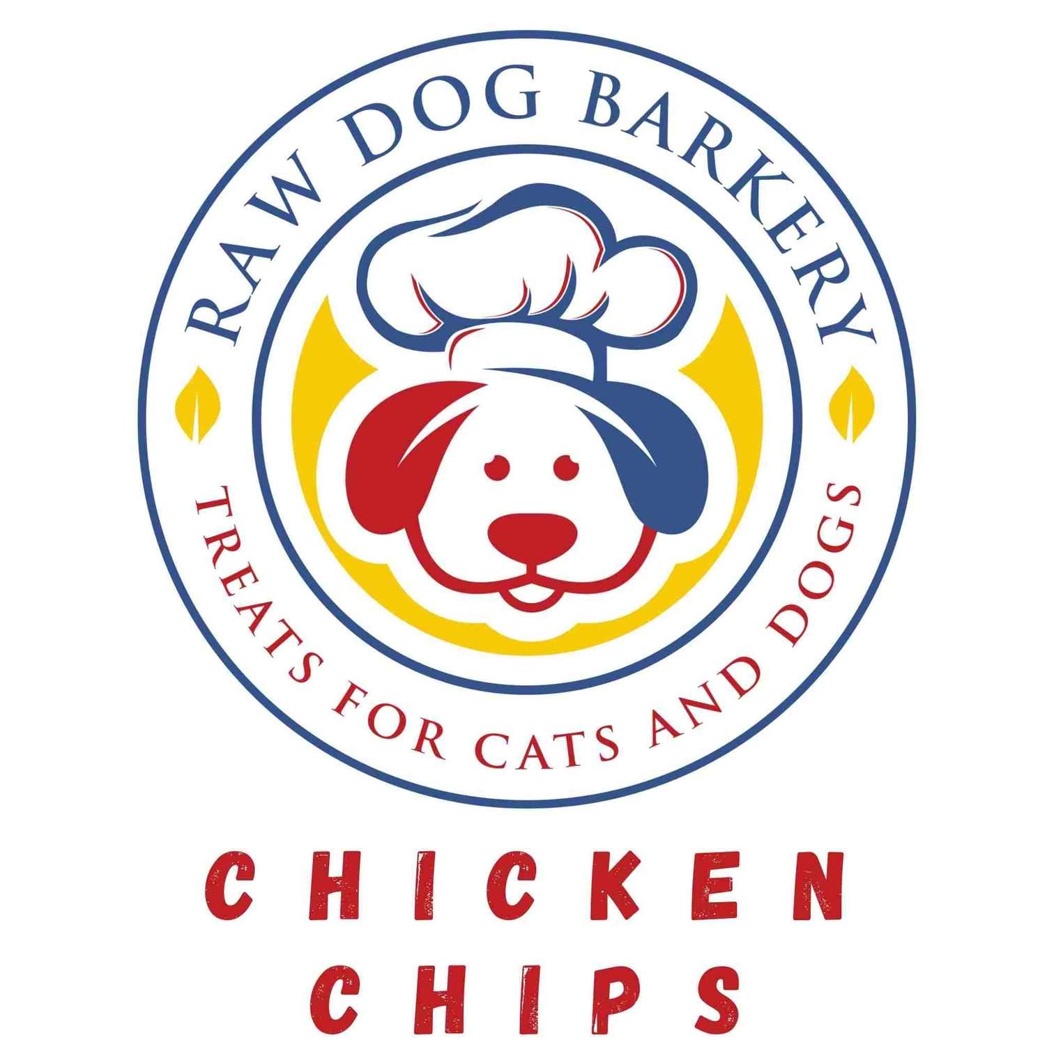 Raw Dog Barkery Chicken Chips Dog Treats, 3-oz