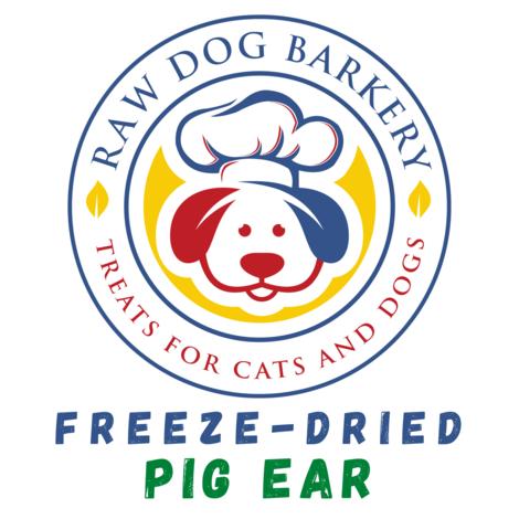Raw Dog Barkery Freeze-Dried Pig Ear