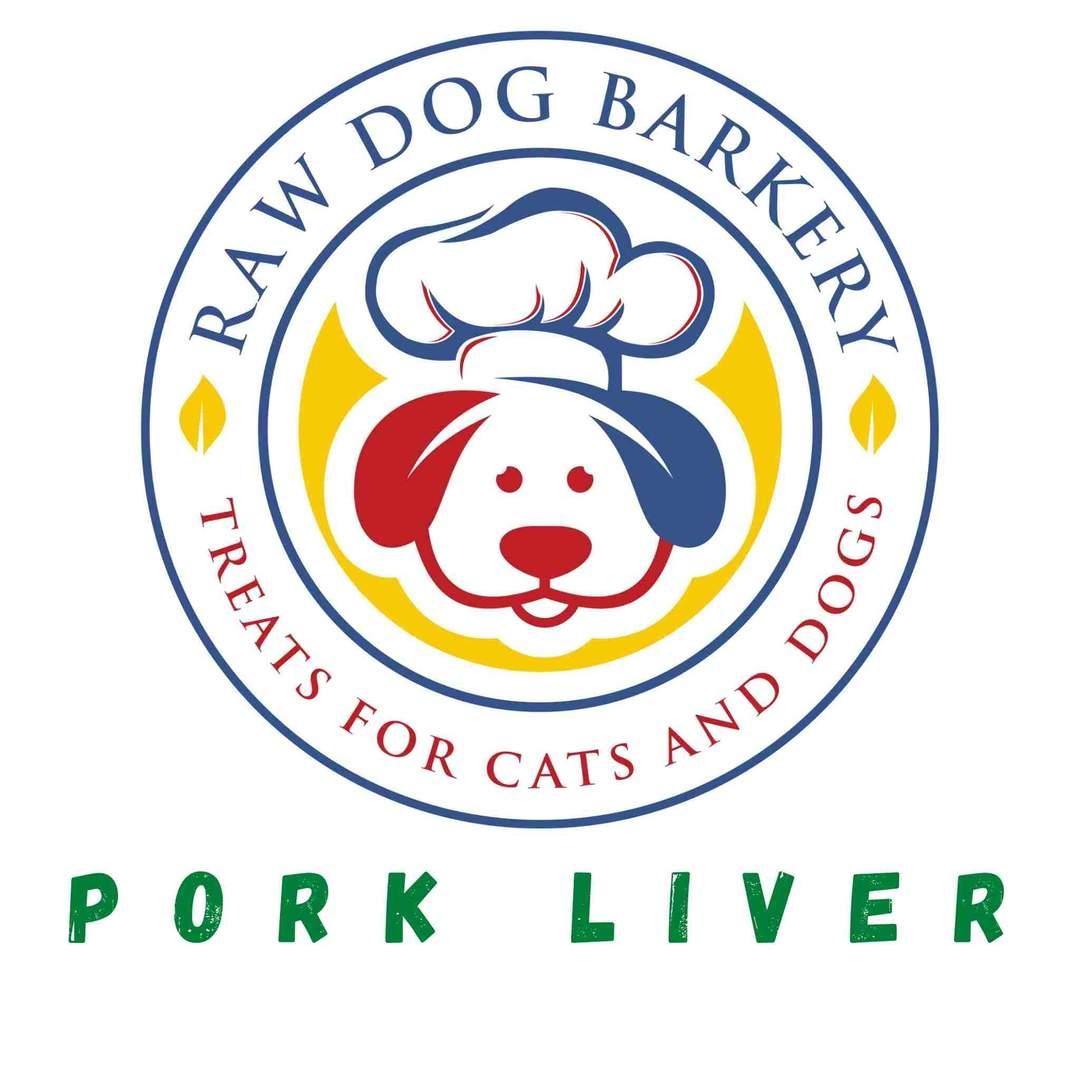 Raw Dog Barkery Pork Liver Dog Treats, 4-oz