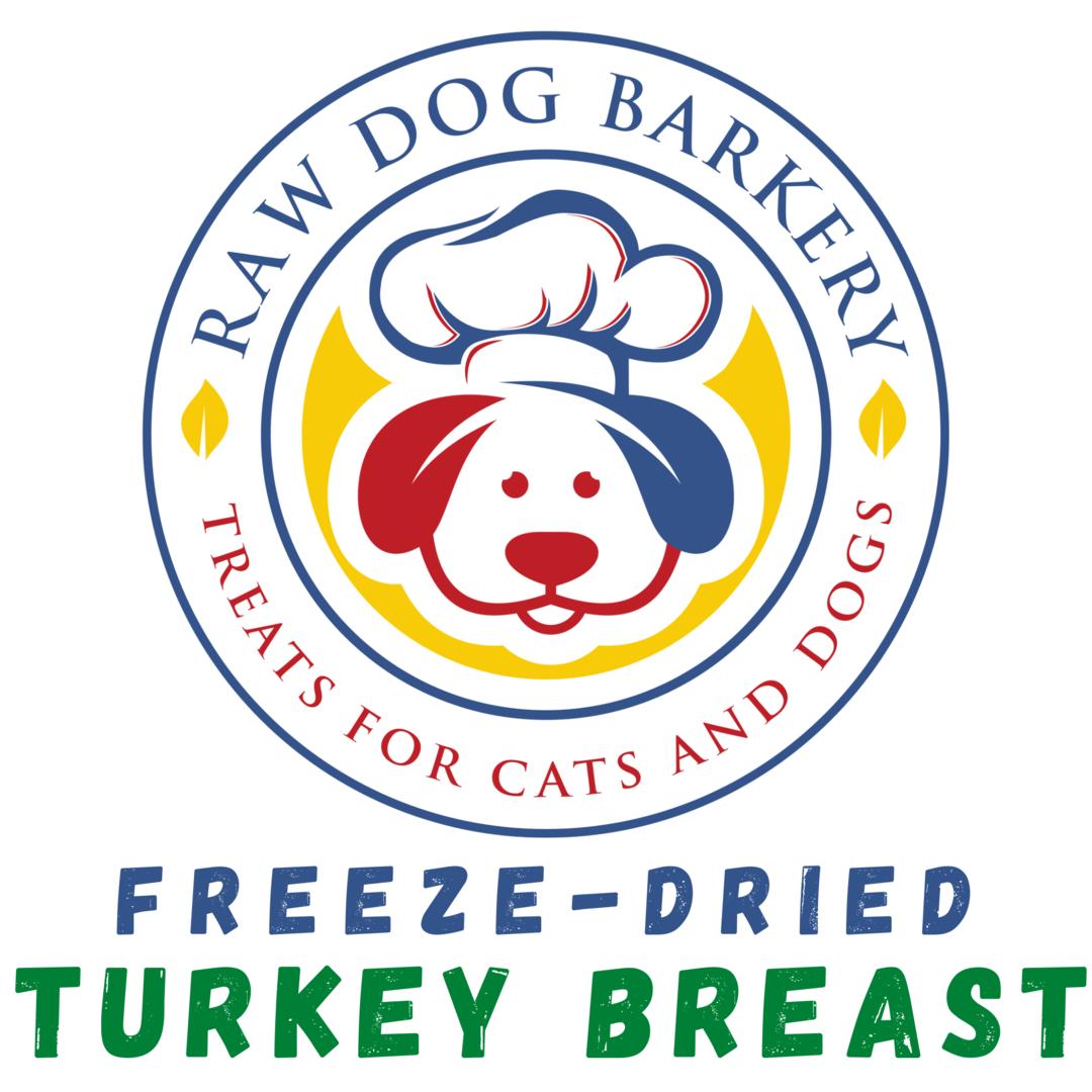 Raw Dog Barkery Turkey Breast Dog Treats, 3-oz