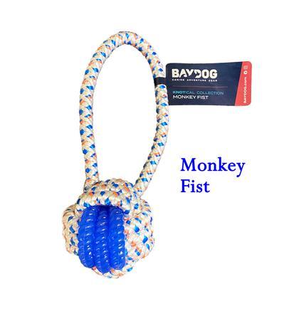 BayDog Monkey Fist Dog Toy