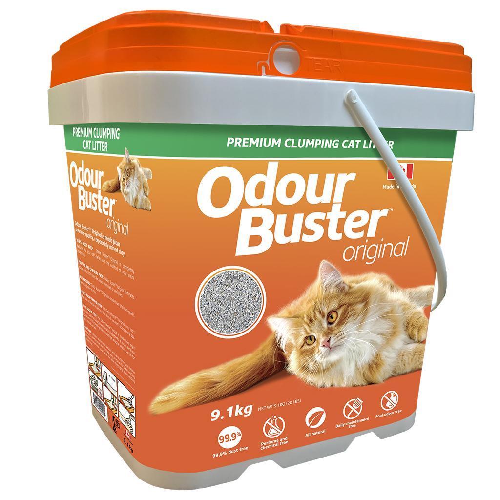 Odour Buster Original Cat Litter, 9.1-kg