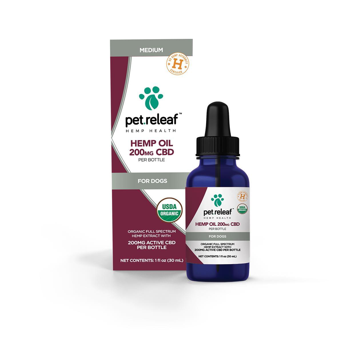 Pet Releaf Oil Alternative Supplement for Pets, 200mg, 1-oz