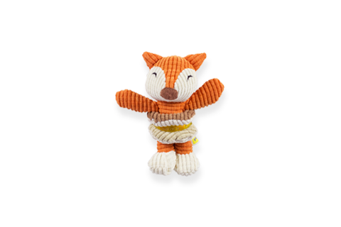BeOneBreed Baby Fox Puppy Dog Toy Image