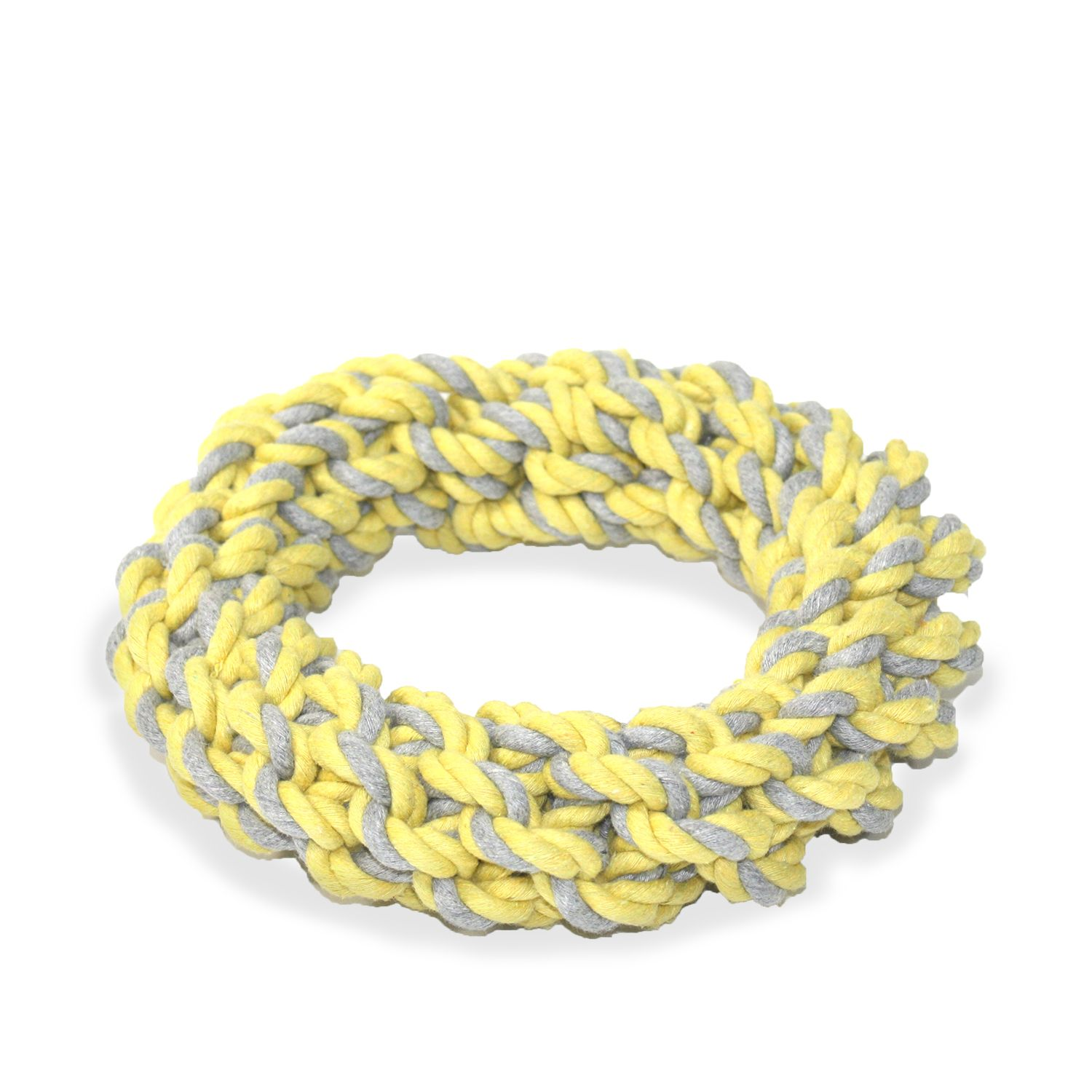 BeOneBreed Rope Ring Dog Toy