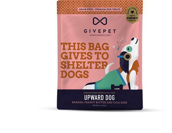 GivePet Upward Dog Grain-Free Dog Treats, 6-oz